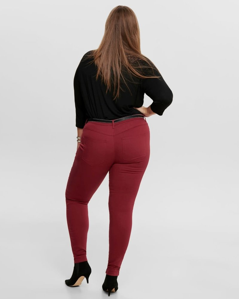 Only Carmakoma Push up skinny jeans Thunder