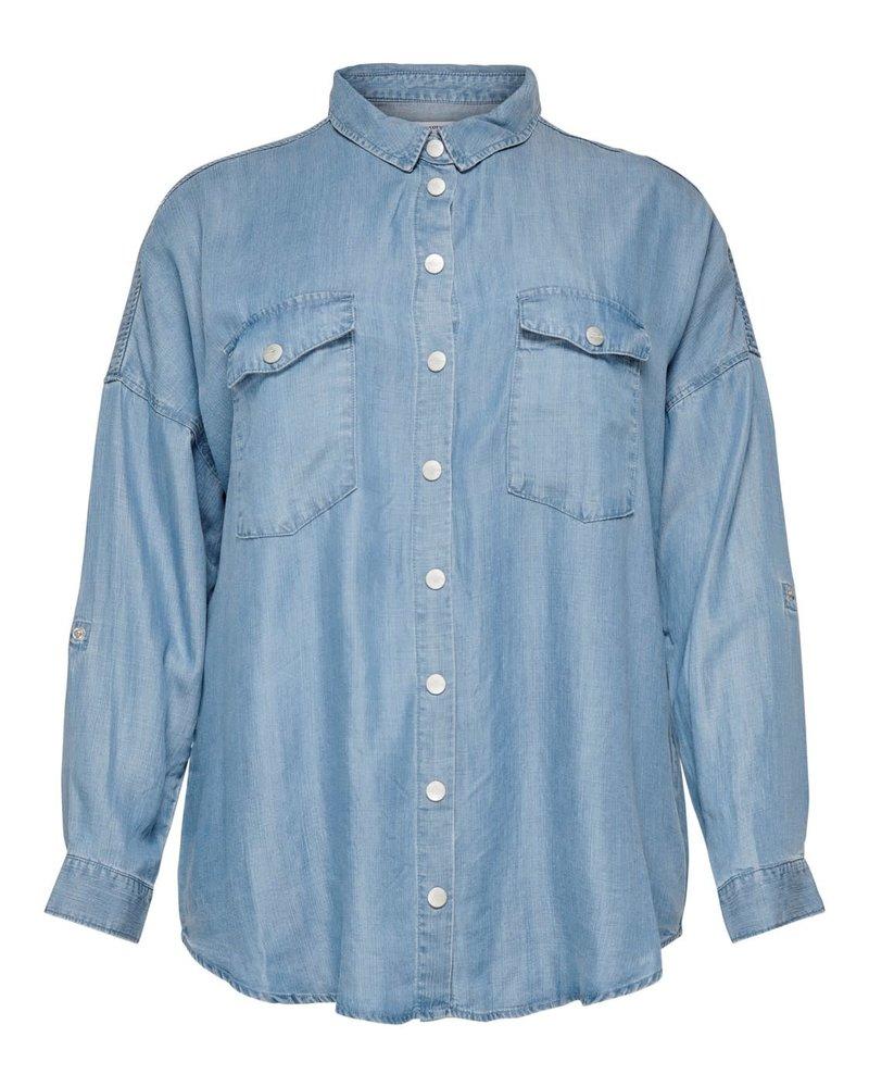 Only Carmakoma oversized blouse Ush