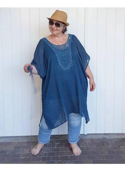 Kaftan old blue