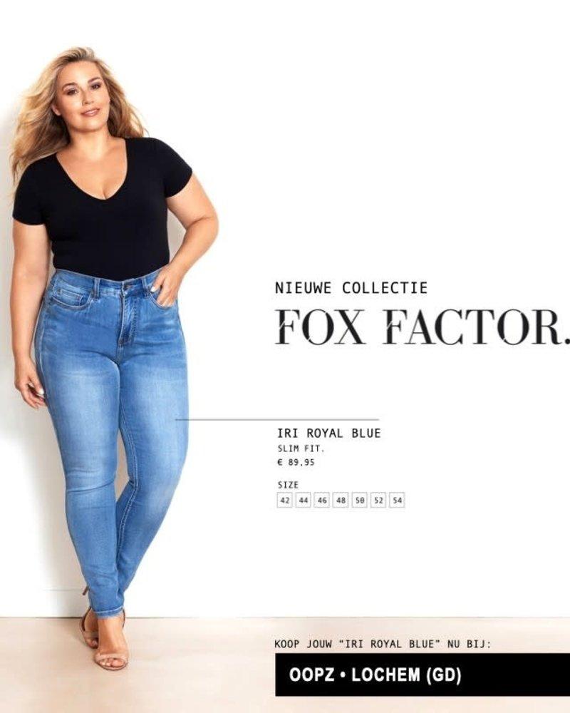 Fox Factor Slimfit IRI royal blue Fox Factor