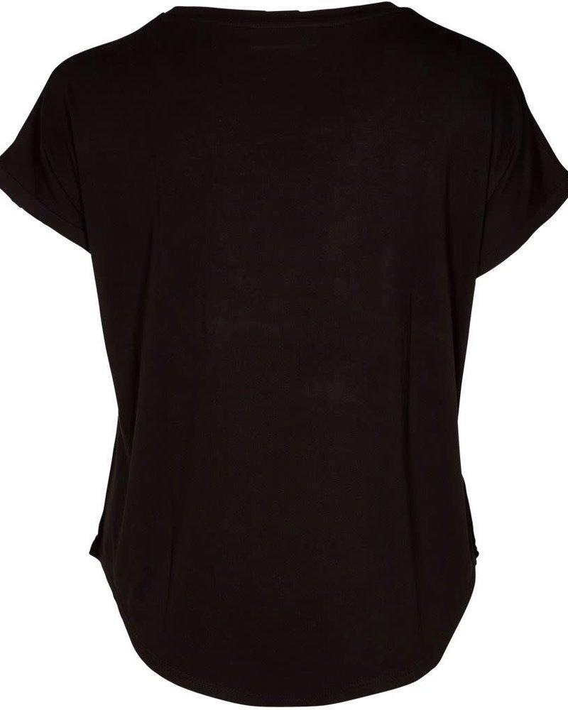 Zoey shirt Envy black