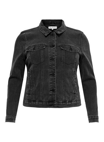 Only Carmakoma denim jacket grey washed Dia Wespa