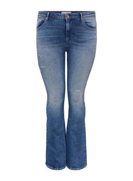Only Carmakoma Flare jeans Baroll