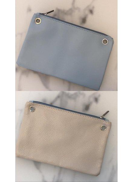 bag light blue/cream