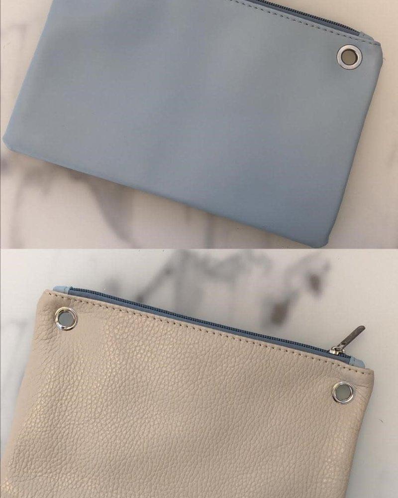 Carry2Care bag light blue/cream