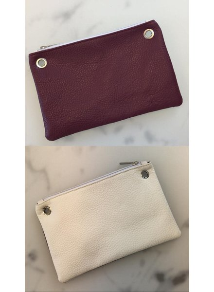 Carry2Care bag dark red/cream