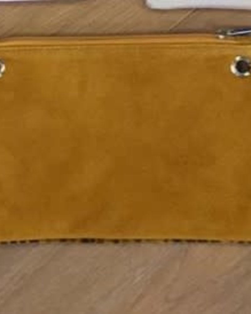 Carry2Care bag yellow animal/ocre