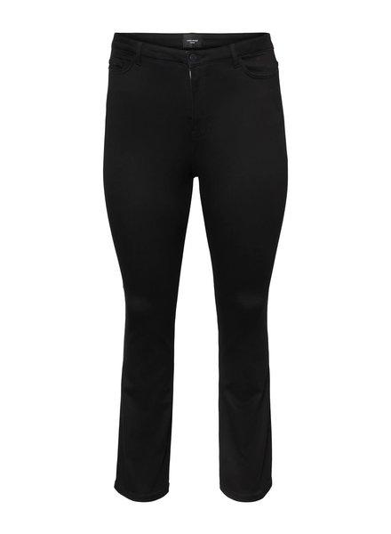 Vero Moda Curve flared jeans black