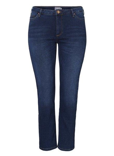 Vero Moda Curve Straight jeans Tennola dark denim