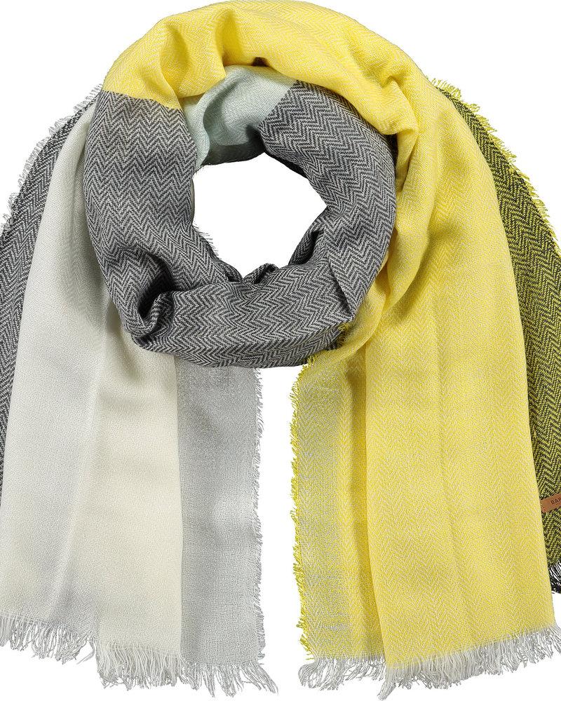 Barts Cefalu scarf yellow