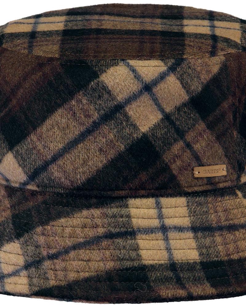 Barts Bucket hat checks brown