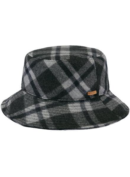 Barts bucket hat checks grey