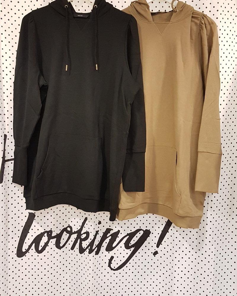 Vero Moda Curve Long sweater Vugga black