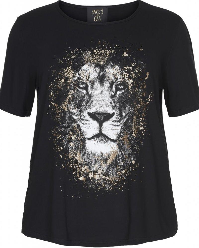 No.1 by Ox Tshirt Lion