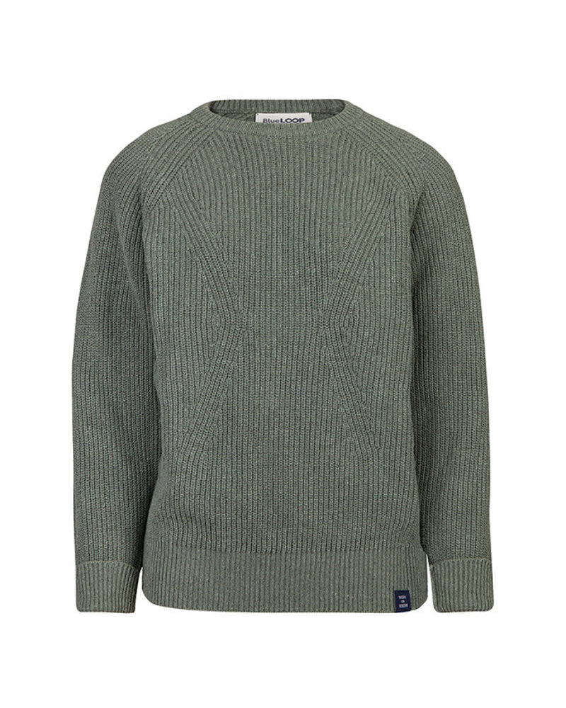 Blue Loop Essential everyday sweater khaki