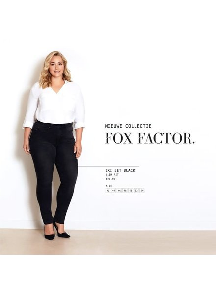 Fox Factor Iri slimfit jet black
