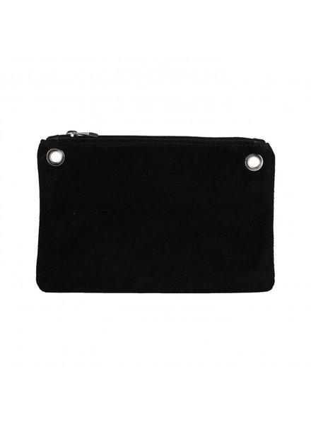 Carry2Care bag black leer/suede
