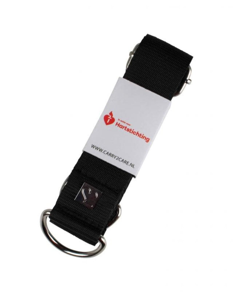 Carry2Care strap hartstichting black