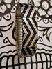 Banded banded regular metallic zigzag