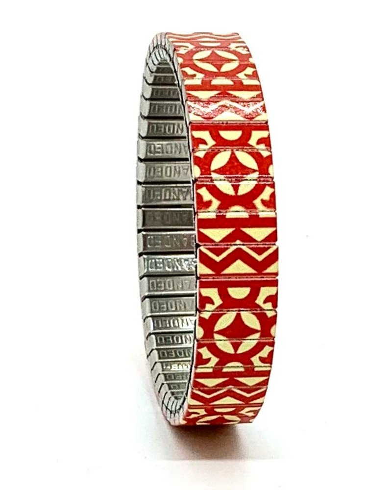 Banded Banded slim Compass to the stars rood