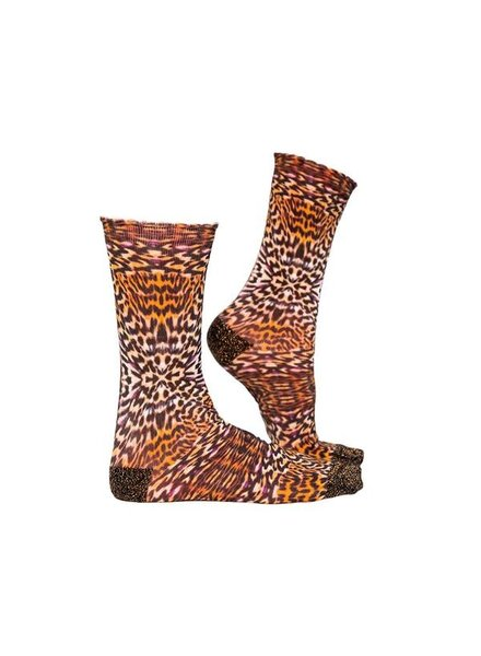 Sock My Feet sock my leopard skin