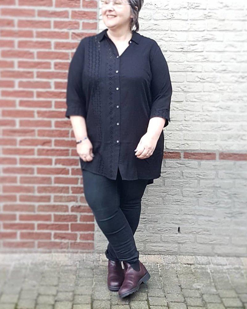 long blouse lace