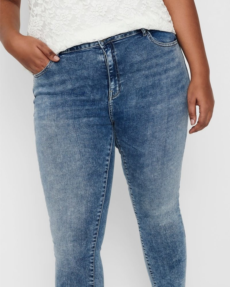 Only Carmakoma Skinny jeans Laola light blue