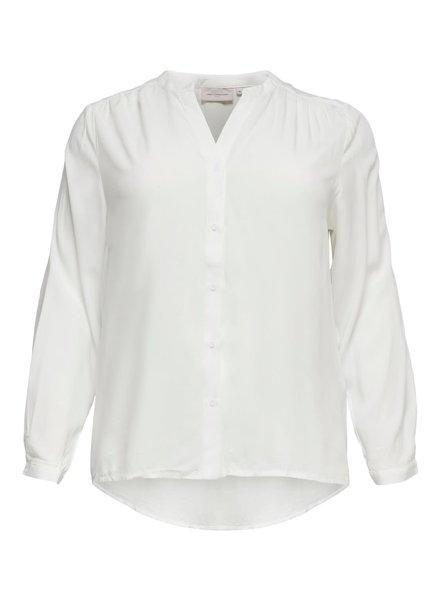 Only Carmakoma blouse Anita off white