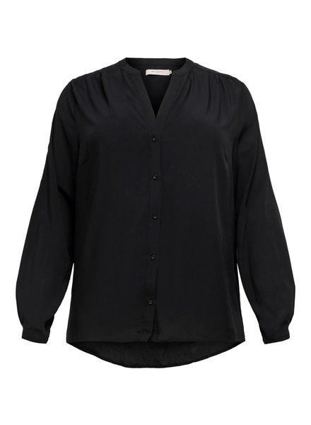 Only Carmakoma blouse Anita black