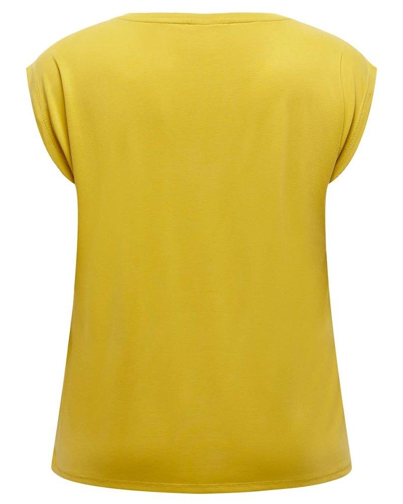 Only Carmakoma shirt Nicky nugget gold