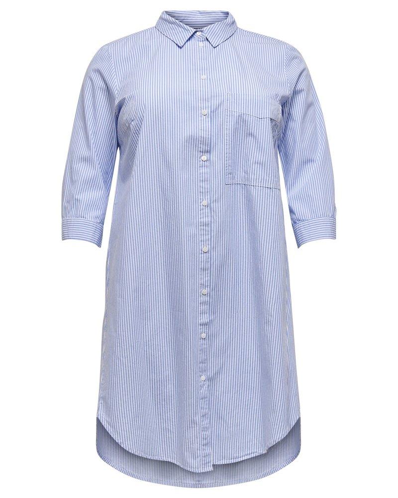 Only Carmakoma viggi striped shirt