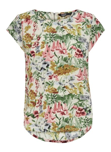 Only Carmakoma top Vica blurry flower