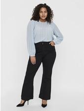 Vero Moda Curve Flare jeans black