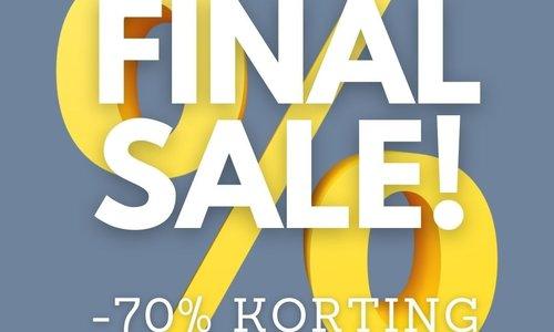 FINAL SALE TOT -70%