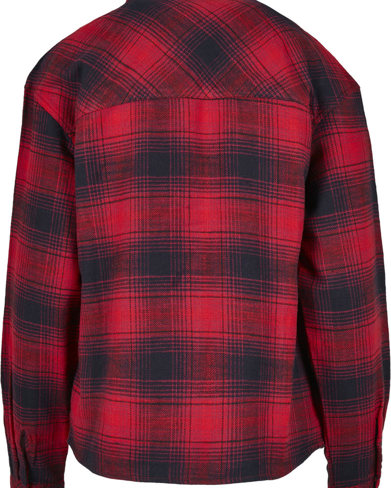 Urban Classics oversized checkered blouse flanel