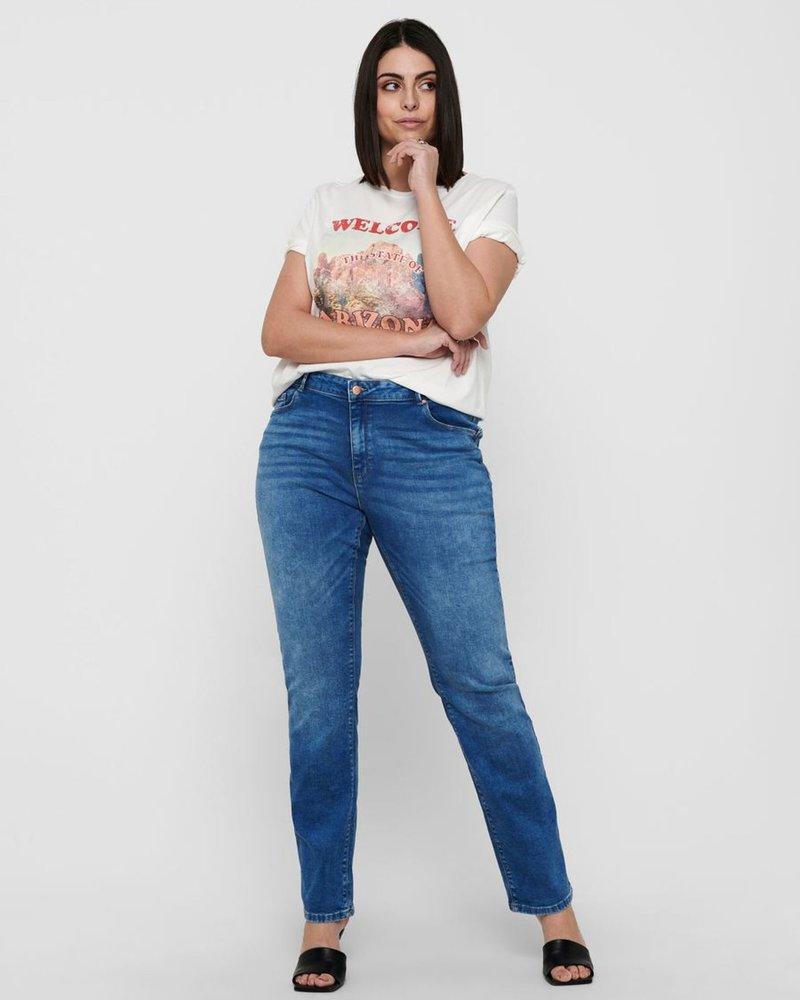 Only Carmakoma Straight jeans Laola