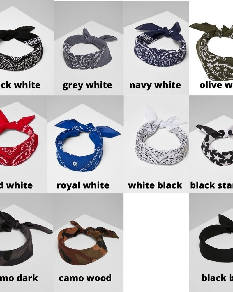Urban Classics bandana katoen 55x55 diverse kleuren