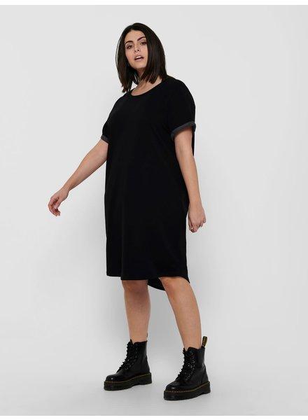 Only Carmakoma dress Kaylee zwart