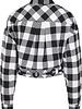 Urban Classics short checkered blouse white/black