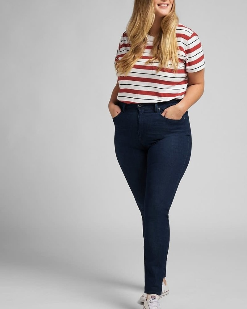 Lee jeans skinny scarlet plus super high dark evita