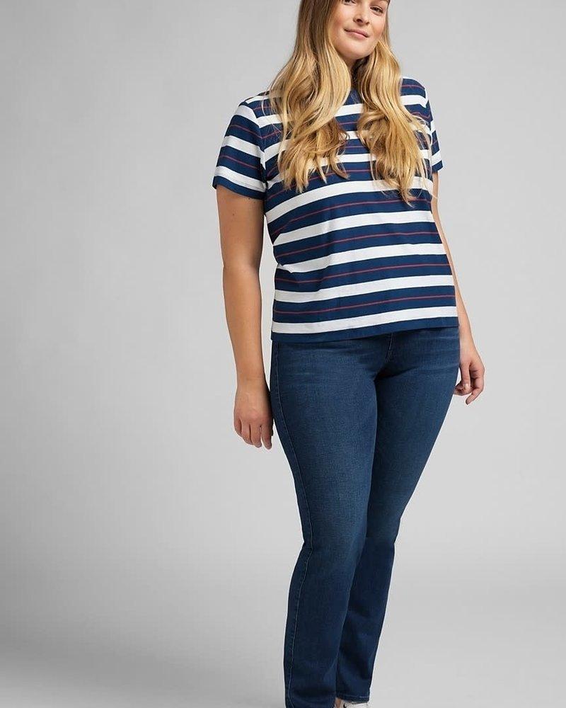 Lee jeans classic straight plus dark sylvie
