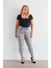 Fox Factor skinny jeans Niki moon grey