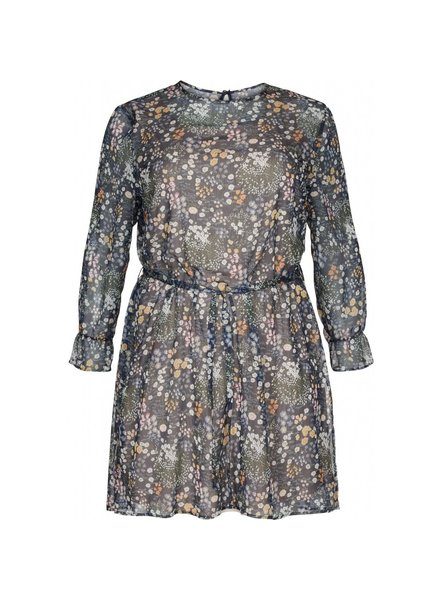 No.1 by Ox loose flower print dress