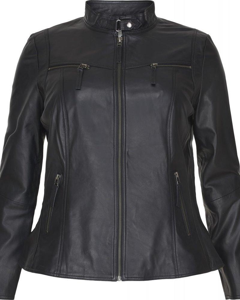 No.1 by Ox Leather biker black