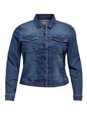 Only Carmakoma denim jacket Wespa medium blue