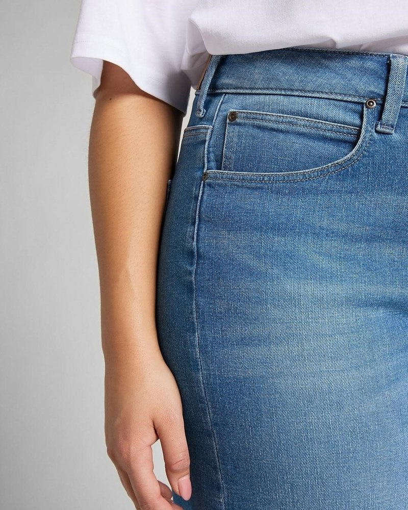 Lee jeans wide leg jeans jaded