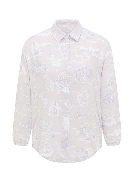 Lee jeans Resort blouse in lilac hunt