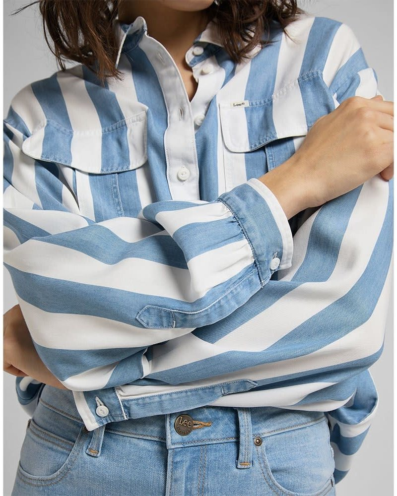 Lee jeans blouse stripe