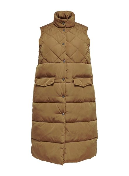 Only Carmakoma quilted waistcoat Stacy