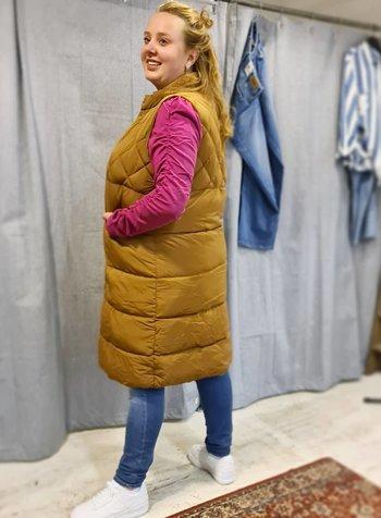 trend: padded waistcoat